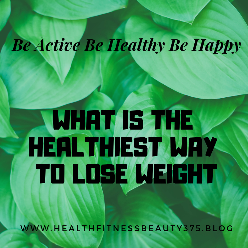 Heallthy weight loss